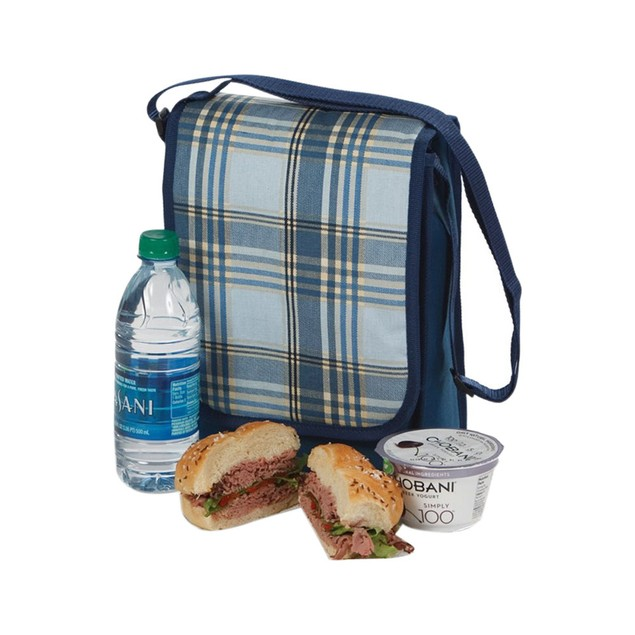 Picnic Plus Galaxy Insulated Lunch bag - Varsity Plaid