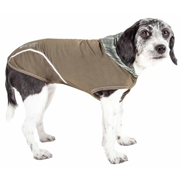 Pet Life 'Pull-Rover' Premium Performance Dog T-Shirt Tank Top Hoodie