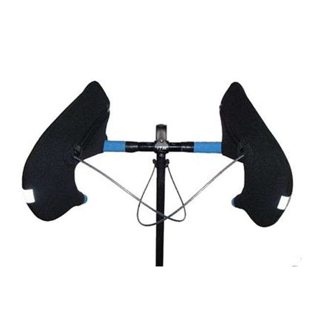 Bar Mitts for Extreme Cold Weather Handlebar with Externally Routed Cables