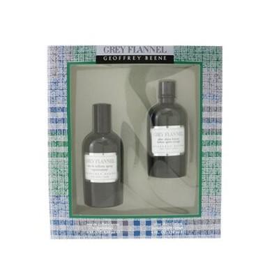Geoffrey Beene Grey Flannel Coffret: Eau De Toilette Spray 120ml/4oz + After Shave Lotion 120ml/4oz (Green Box)