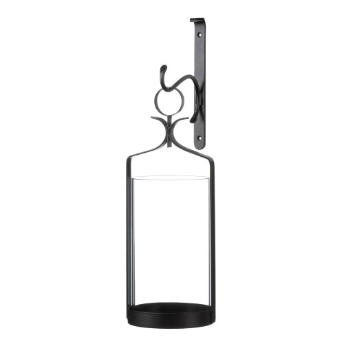 Gallery of Light Hanging Hurricane Glass Wall Sconce