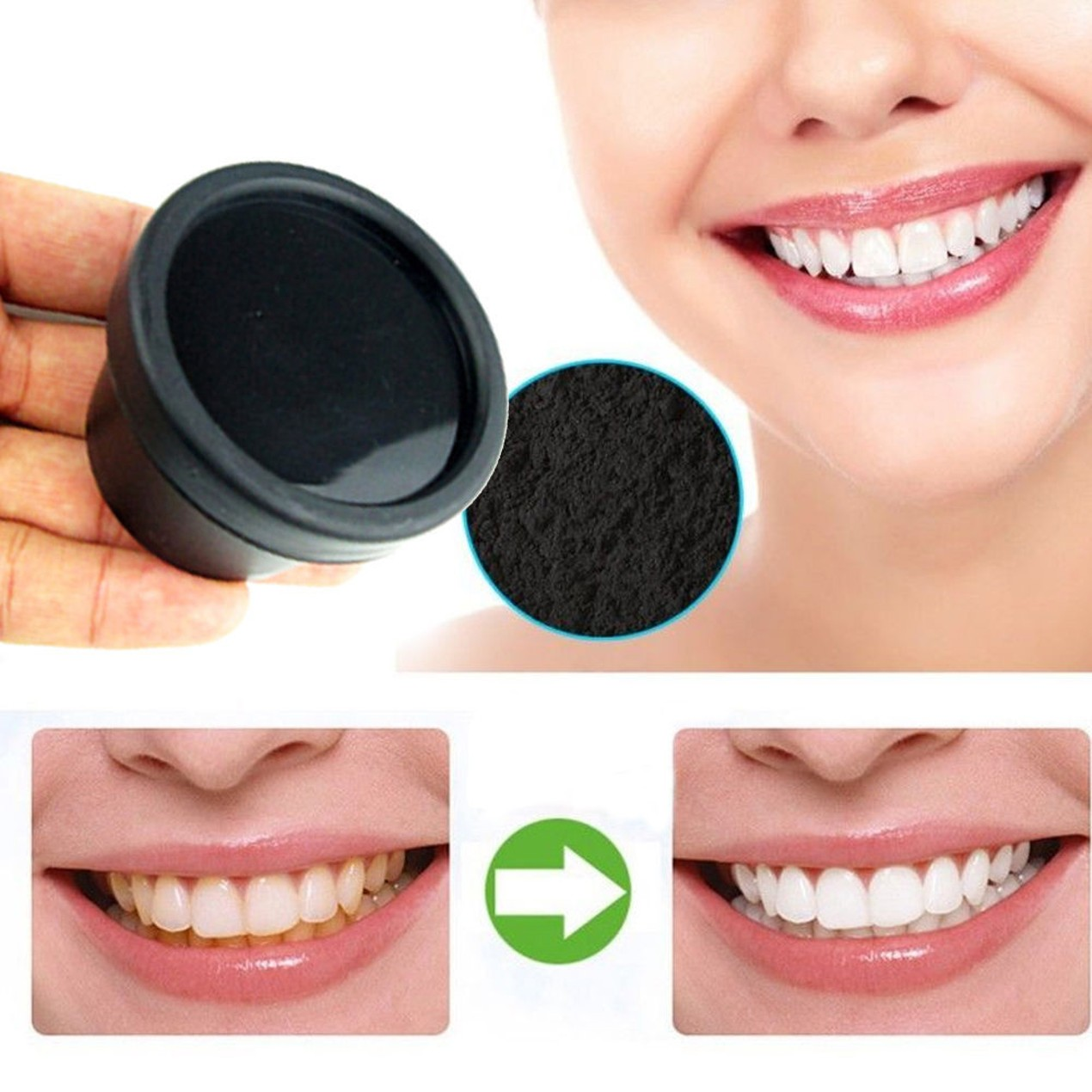 activated charcoal natural teeth whitening toothpaste
