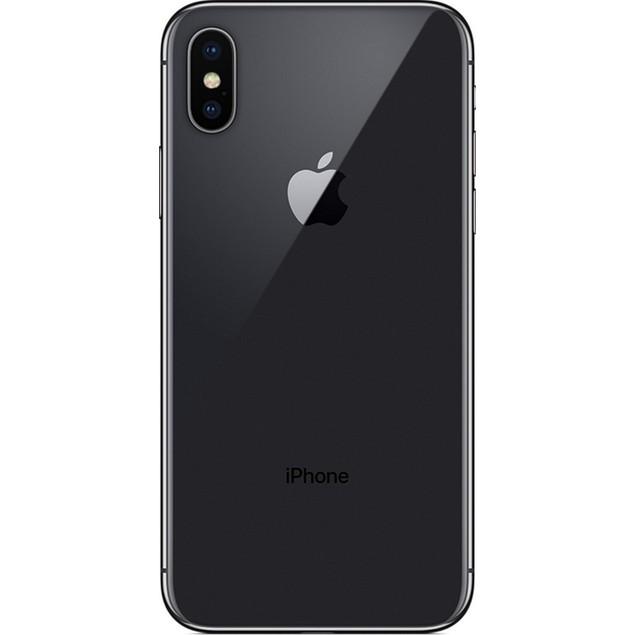 Apple iPhone X, Unlocked, Grade B-, Gray, 256 GB, 5.8 in Screen