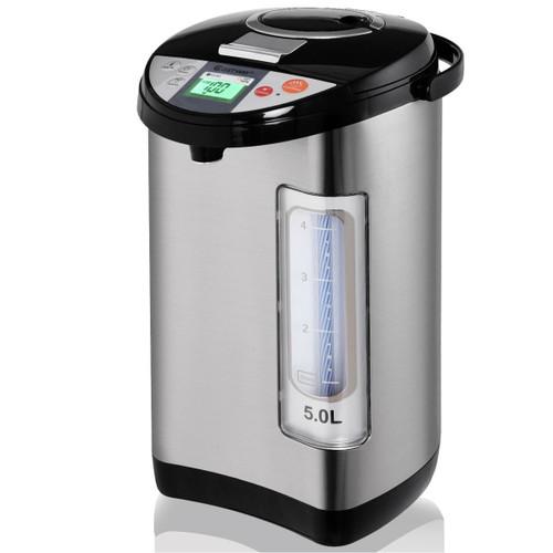 Costway 5-Liter LCD Water Boiler and Warmer Electric Hot Pot Kettle Hot Wat