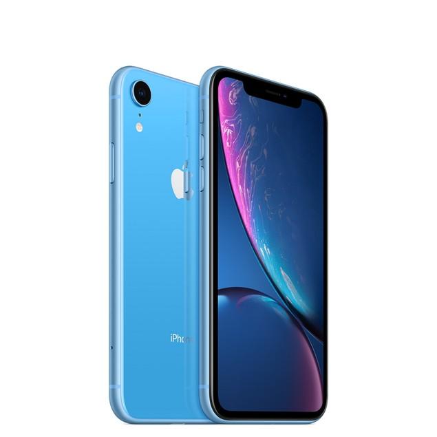 Apple iPhone XR, AT&T, Grade B-, Blue, 64 GB, 6.1 in Screen