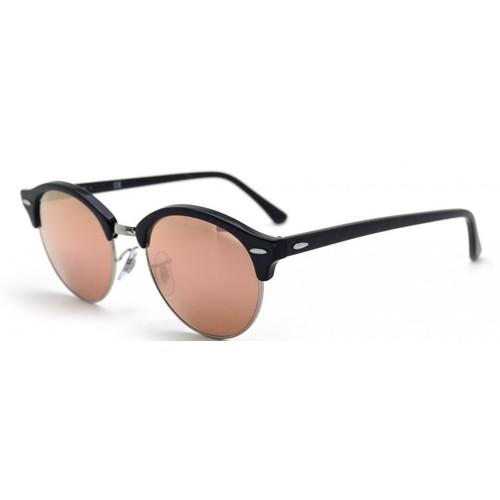 Ray-Ban Clubround Tortoise Black Sunglasses RB4246-1197Z2-51