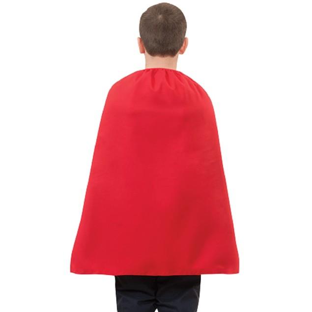 "Child Red Superhero Cape 28"""