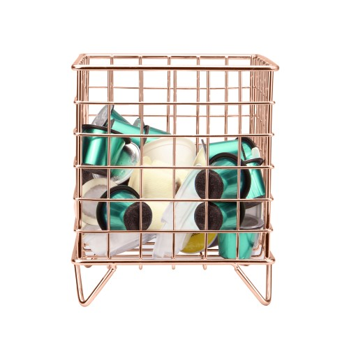 Coffee Pod Cage Holder | MandW Rose Gold