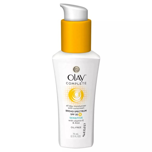 Unscented Olay Complete All Day Moisturizer w/ SPF 30 Sensitive, 2.5 Oz