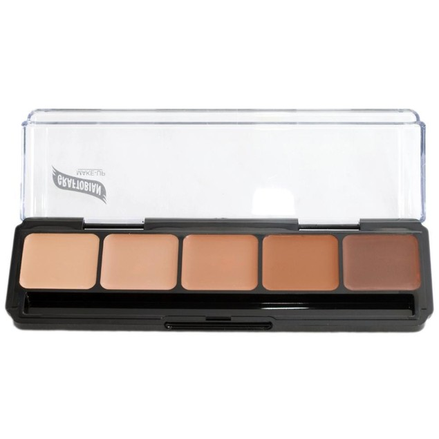Cool Palette #2 HD Glamour Creme Foundation Palette