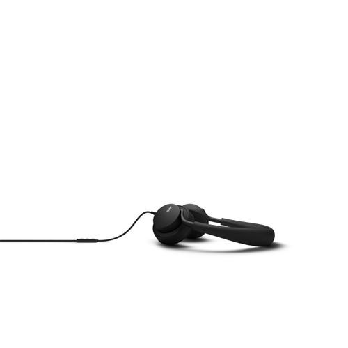 JAYS u-JAYS Headphones for Android, Black on black (2017 edition)