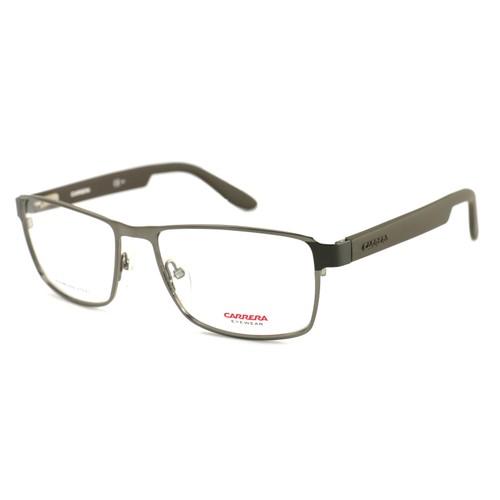 Carrera Men Eyeglasses Dark Ruthenium Rectangle CA 5504 BXG Full Rim 54 16 140