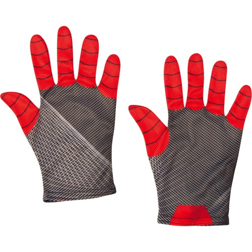 Adult Spider-Man: Far From Home Red/Black Gloves