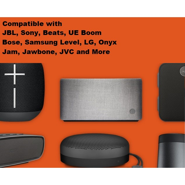 Micro USB Charging Cable for Bluetooth Speakers & Headphones for JBL, Beats