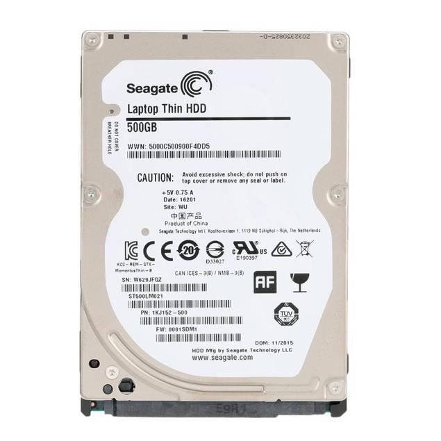 "Seagate 500GB SATA 7200RPM 32MB 2.5"" Hard Drive(Certified Refurbished)"