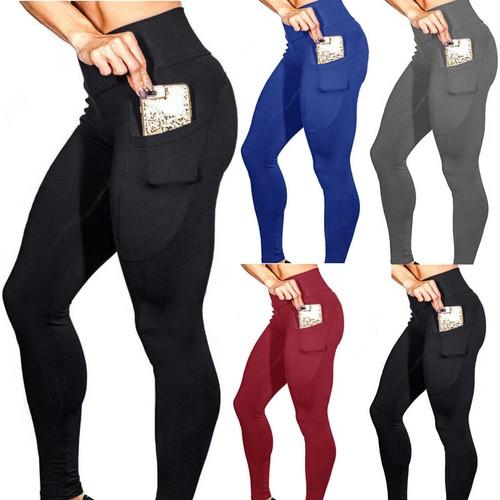 Women's Pocket High Stretch Yoga Pants