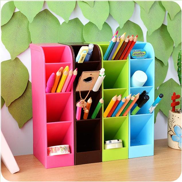 Plastic Organizer Storage Box Tie Bra Socks Drawer Cosmetic Divider Tidy