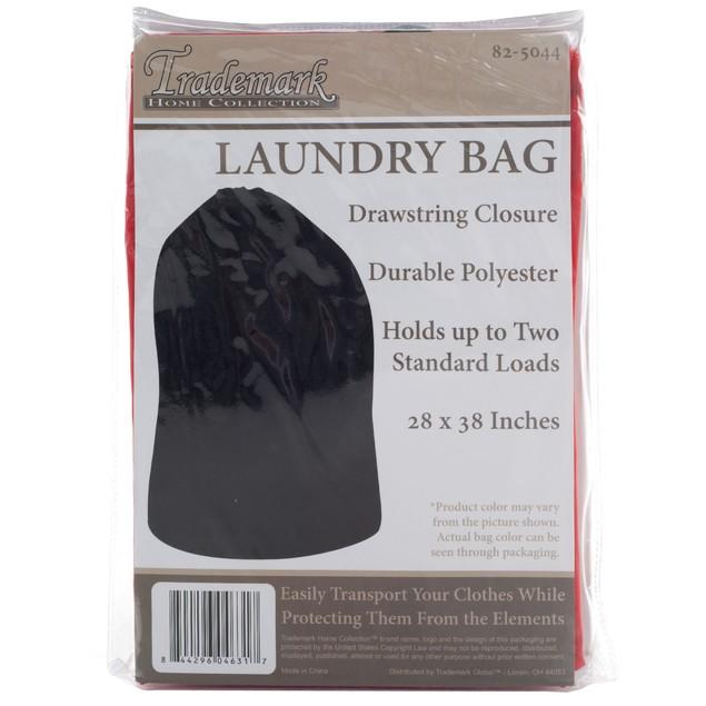 Heavy Duty Jumbo Sized Nylon Laundry Bag - RED