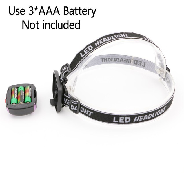 COB LED Bright Headlamp Torch