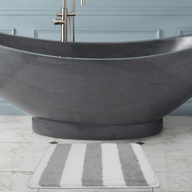 "2-Pack 17"" x 24"" Ultra-Plush Monte Carlo Bath Mat"