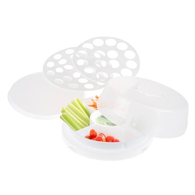 Classic Cuisine 4 in 1 Party Tray Travel Set