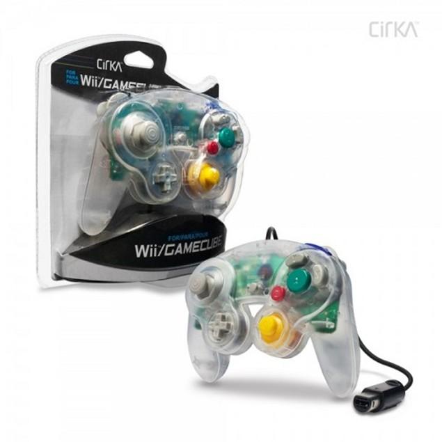 Nintendo Wii/GameCube CirKa controller (Clear)