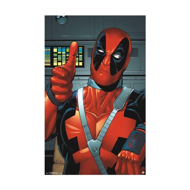 Deadpool Thumbs Up Poster 24 x 36 Marvel Comics Wade Wilson X-Men Mutants