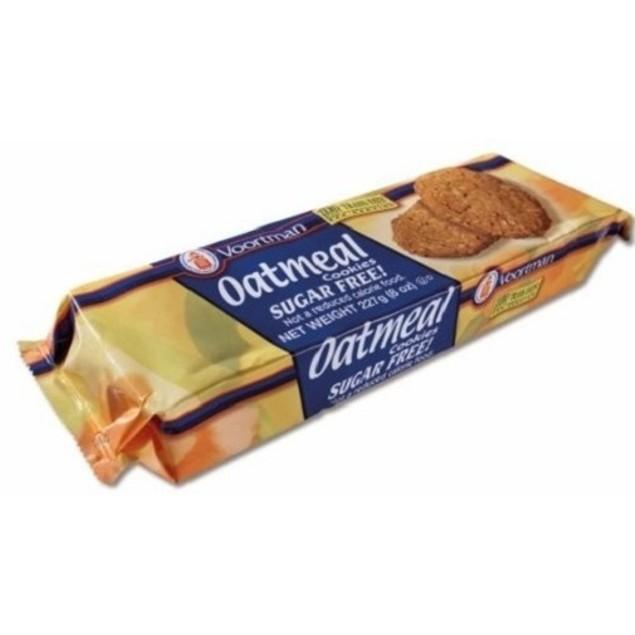 Voortman Oatmeal Sugar Free Cookies