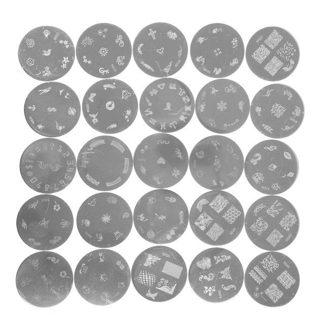 SHANY Nail Art Polish Image Plate Set