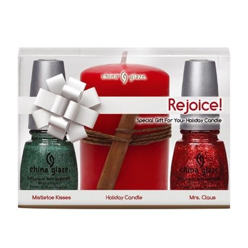 China Glaze Holiday Prepack - Rejoice