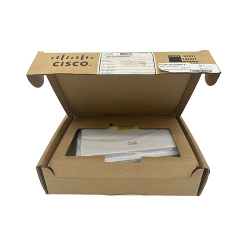 Cisco AIR-ANT2460NP-R 2.4GHz Indoor/Outdoor MIMO 6-dBi Patch Antenna (New Open