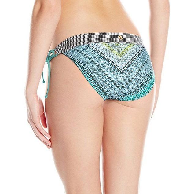 prAna Women's Saba Bottom, SZ: Small, Emerald Riviera