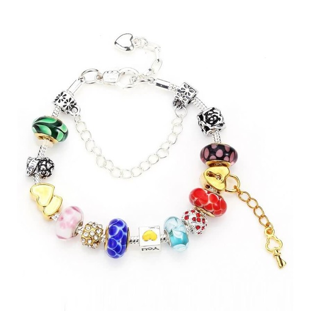 Novadab Celebrate Love Charms Bracelet For Women