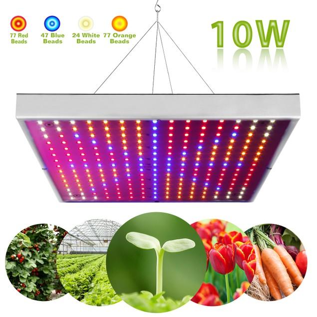 LED Grow Light Full Spectrum Hanging 225 LEDs Plant Grow Lamp