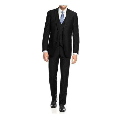 Braveman Men's Slim Fit 3 PC Fashion Suits