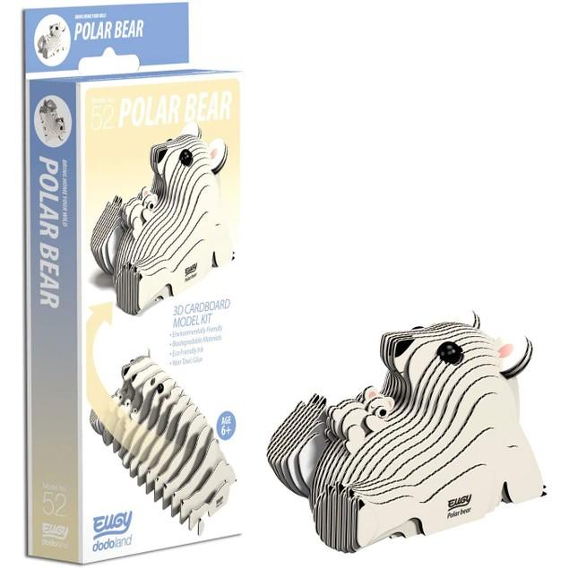 EUGY Polar Bear 3D Craft Kit