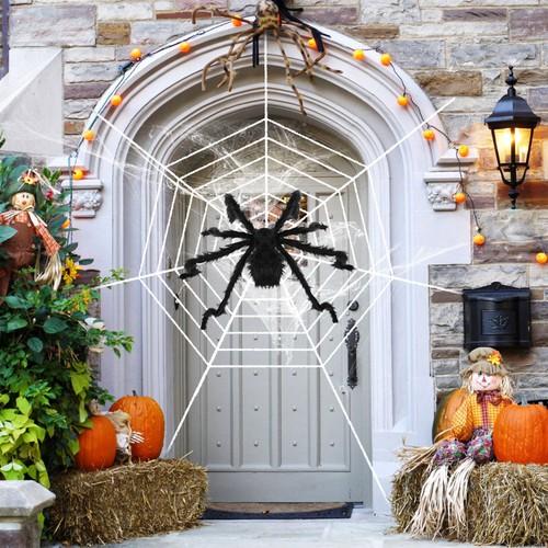 Halloween Decorations Spider Outdoor 49inch Halloween Spider