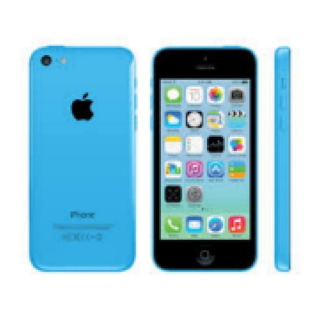 Apple iPhone 5c, Unlocked, Blue, 16 GB, 4 in Screen