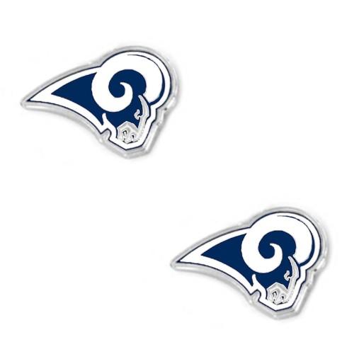 NFL LA Los Angeles Rams Post Stud Earring