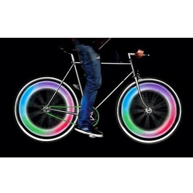 4 Pack: Bicycle LED Light