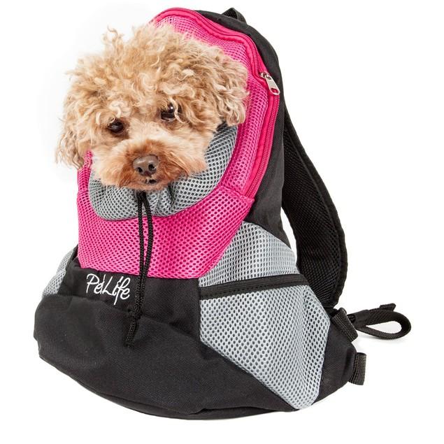On-The-Go Supreme Travel Bark-Pack Backpack Pet Carrier