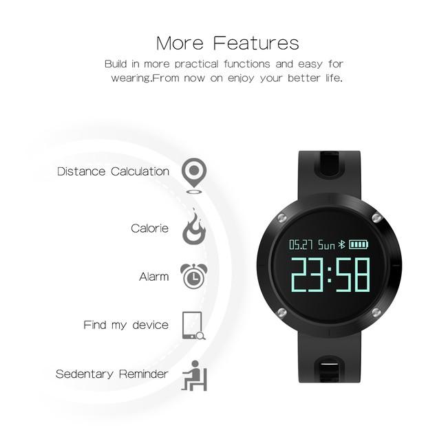 Fixm Fitness Tracker Smart Watch Smart Bracelet Smart Wristband Sport Watch