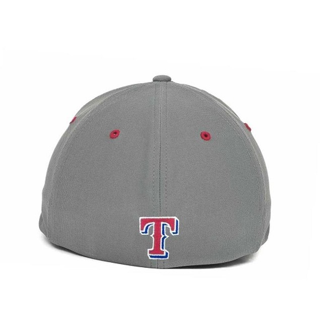 """Texas Rangers MLB 47' Brand """"Fission"""" Stretch Fitted Hat"""