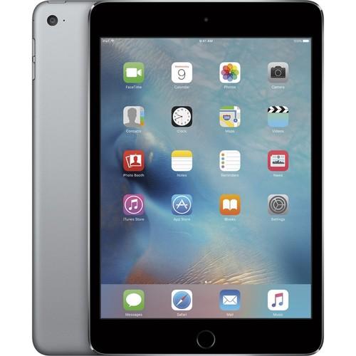 Apple iPad Mini 4, MK9G2LL/A, A8/64GB, Space Gray/Black (Refurbished)