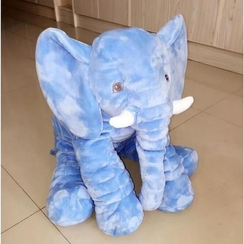 60cm Elephant Plush Toy Doll Stuffed Children's Home Decoration Gift