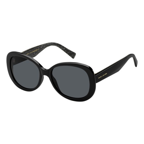 Marc Jacobs Women Sunglasses MARC261S NS8 Black 18 145  Round/Oval  56 18 145