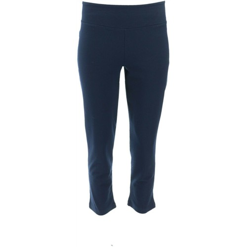 Women with Control Regular Wicked Crop Length Straight Leg Pants, L, Night