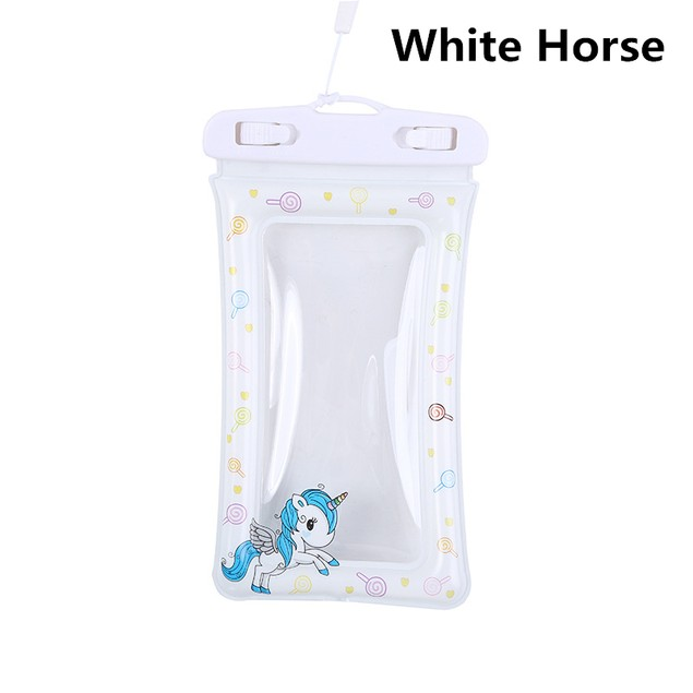 Transparent Inflatable Mobile Phone Waterproof Case