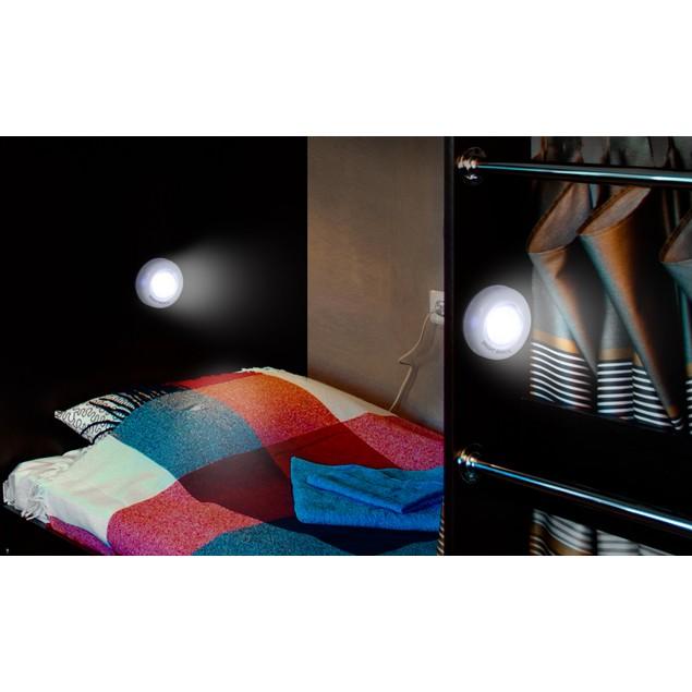 2-Pack Bright Basics Ultra-Thin Wireless LED Puck Lights