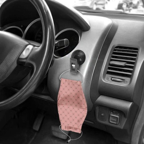 2 Pack Car Interior Suction Clip Holder